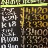 4月1日の金プラチナ買取価格