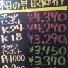 4月22日の金プラチナ買取価格