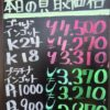 6月29日の金プラチナ買取相場に変化が!?