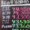 9月16日の金プラチナ買取価格です!