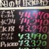 9月20日の金プラチナ買取価格です。