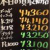 10月14日の金プラチナ買取価格を更新いたしました!