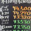 11月10日の金プラチナ価格はー!?