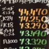 12月1日の金プラチナ買取価格は??