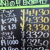 3月29日の金プラチナ買取価格