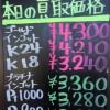 4月15日の金プラチナ買取価格