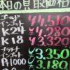6月28日の金プラチナ買取価格
