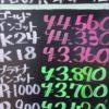 8月12日の金プラチナ買取価格はこちらです。