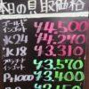 9月23日の金プラチナ買取価格はッ!♪