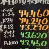 12月15日の金プラチナ買取価格はいかにー?!