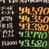 2月6日の金プラチナ価格を更新いたしました。